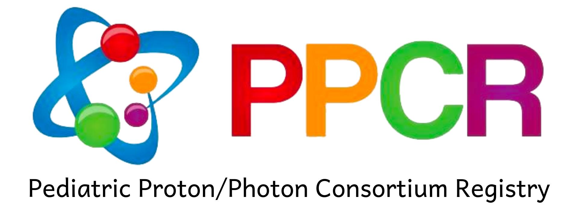 PPCR Pediatric Proton Consortium Registry